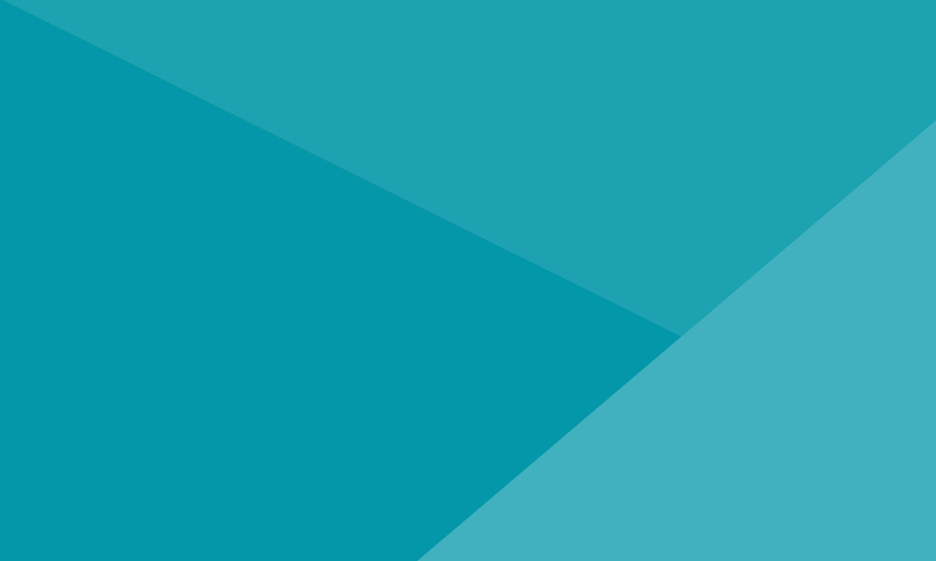 geometric teal background